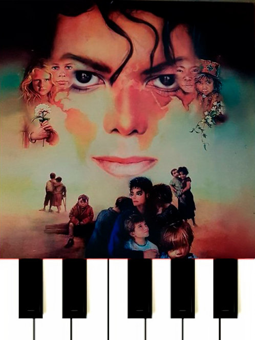 Michael Jackson - Earth Song Sheet Music