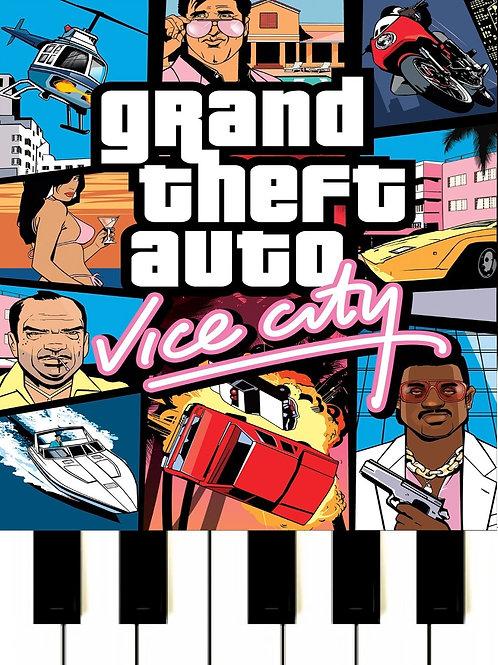 GTA - Vice City Main Theme  Sheet Music
