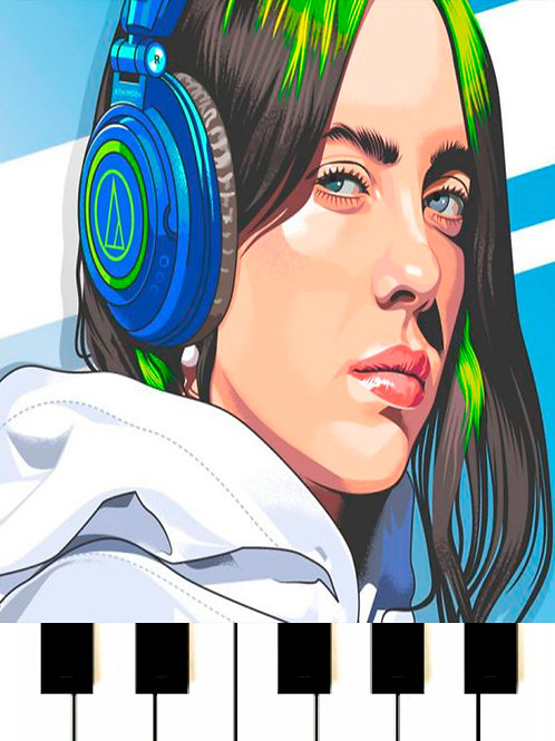 Billie Eilish, ROSALÍA - Lo Vas A Olvidar MIDI