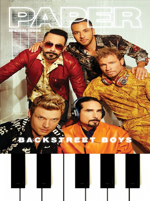 Backstreet Boys - I Want It That Way MIDI
