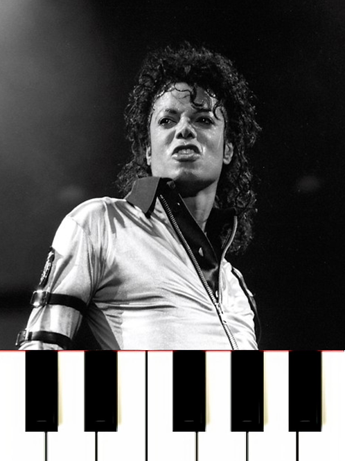 Michael Jackson - Another Part Of Me MIDI