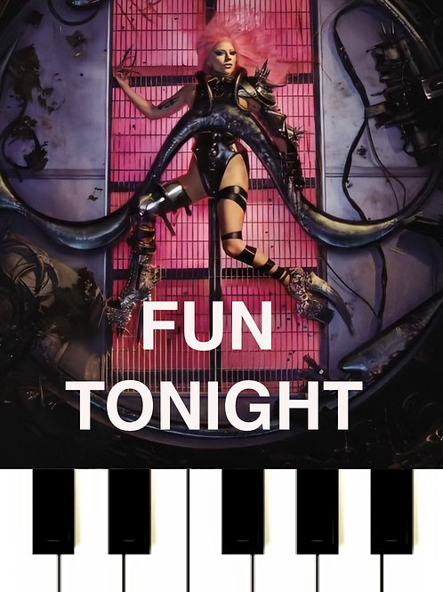 Lady GaGa - Fun Tonight Sheet Music