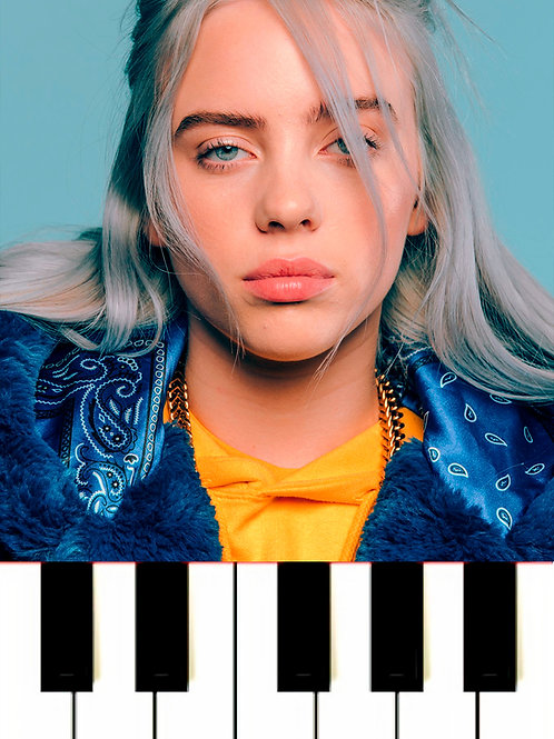 Billie Eilish - I Love You MIDI + Sheet Music