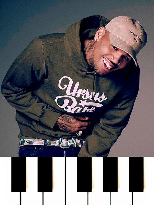 Chris Brown - No Guidance MIDI