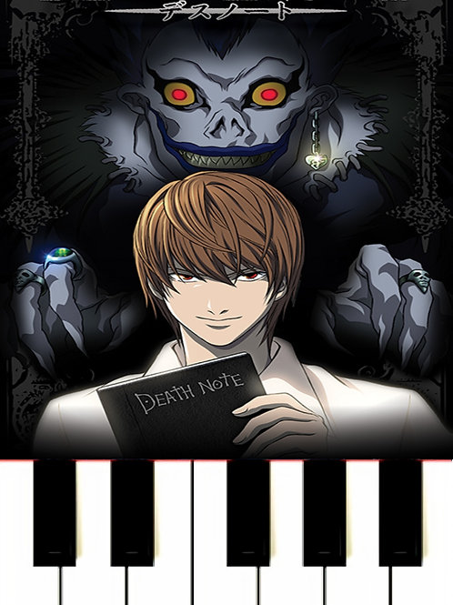L's Theme - Death Note Sheet Music