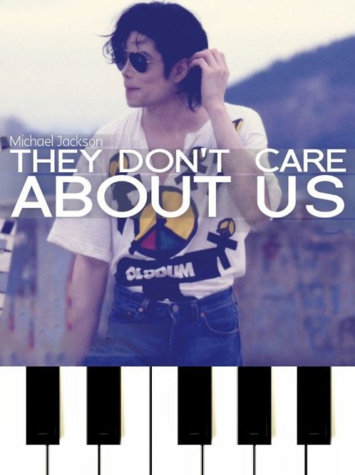 Michael Jackson - They Don't Care About Us MIDI
