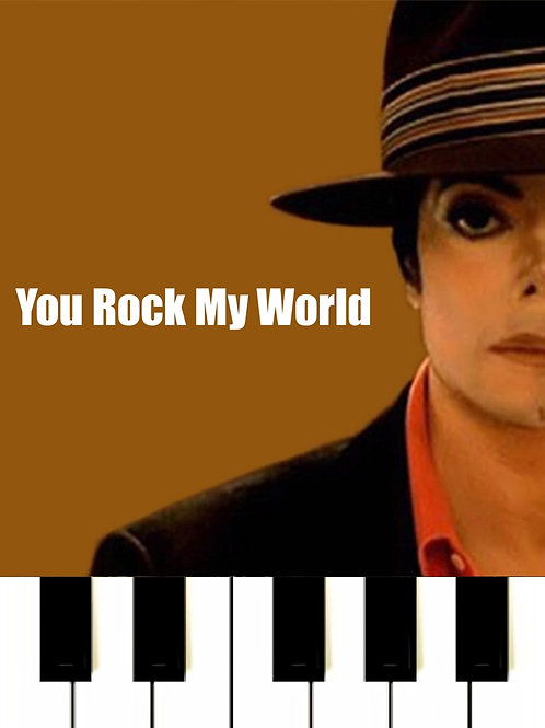 Michael Jackson - You Rock My World MIDI