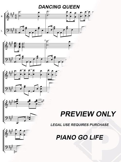 ABBA - Dancing Queen Sheet Music