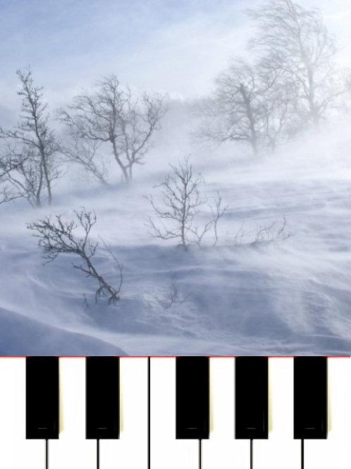 The Snowstorm Sviridov - Метель Sheet Music