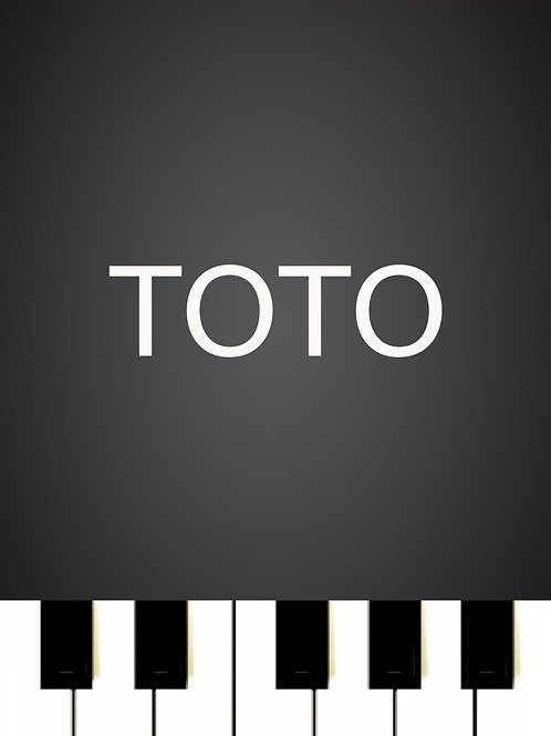 Toto - Hold The Line Sheet Music