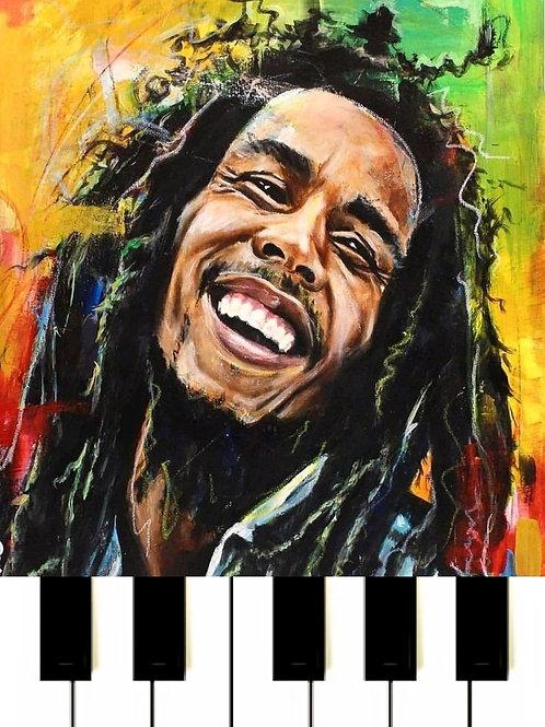Bob Marley - A lalala long MIDI