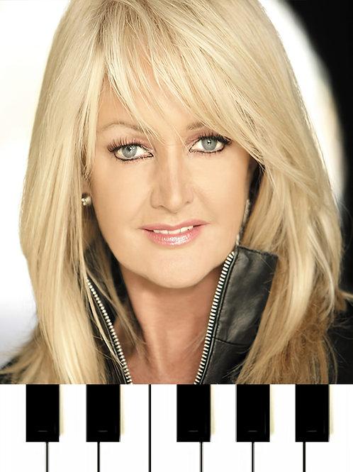 Bonnie Tyler - It's A Heartache Sheet Music