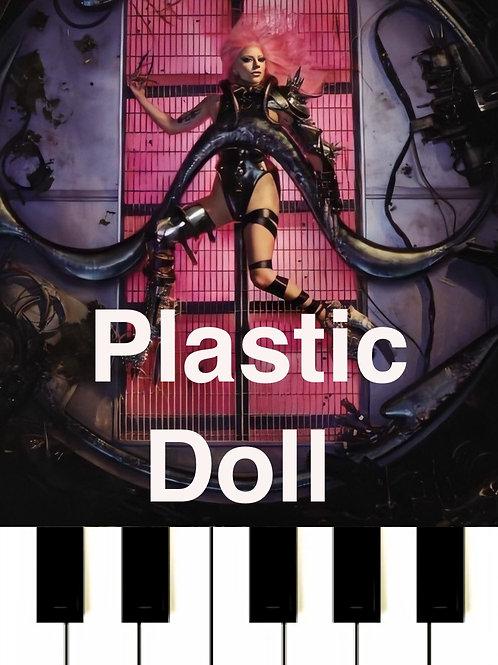 Lady Gaga - Plastic Doll Sheet Music