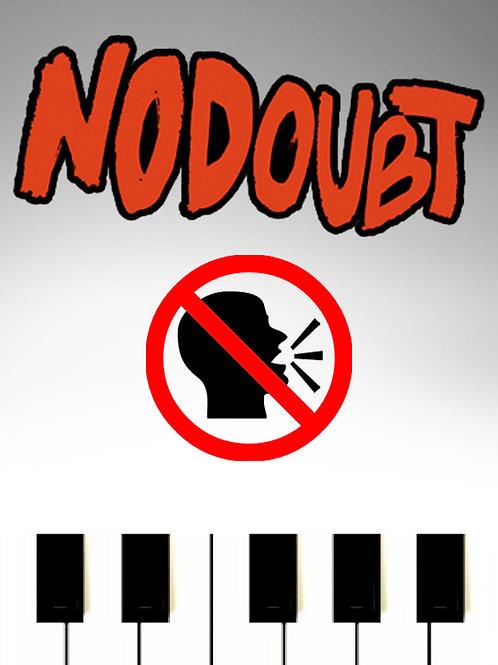 No Doubt - Don't Speak Sheet Music