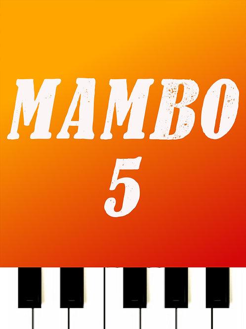 Lou Bega - Mambo No 5 Sheet Music