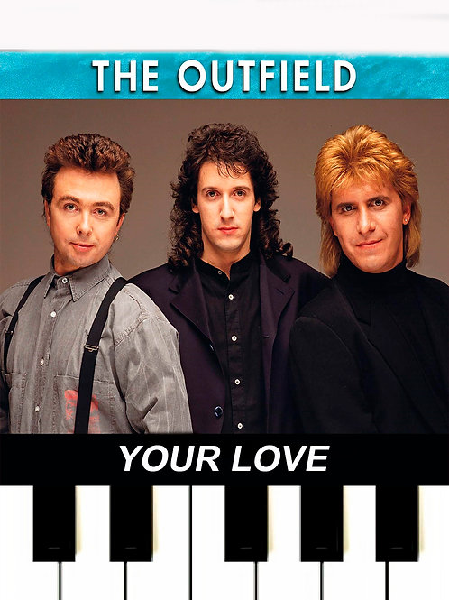 The Outfield - Your Love MIDI