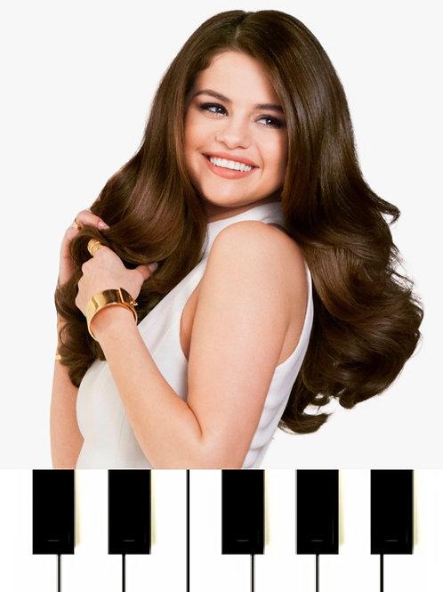 Selena Gomez - Souvenir Sheet Music
