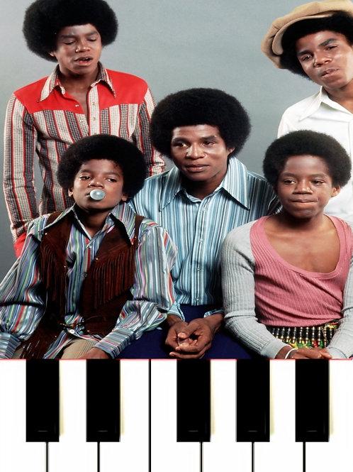 The Jackson 5 - I'll Be There MIDI