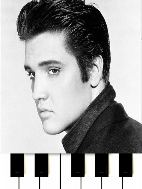 Elvis Presley - Can't Help Falling In Love MIDI