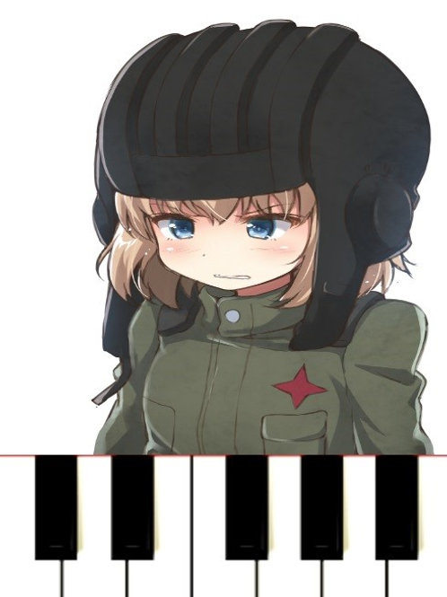 KATYUSHA IN RAG - Sheet Music