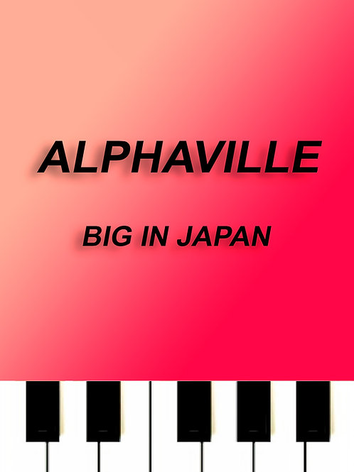 Alphaville - Big in Japan MIDI