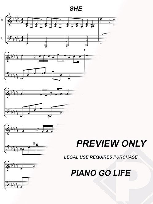 Elvis Costello - She Sheet Music