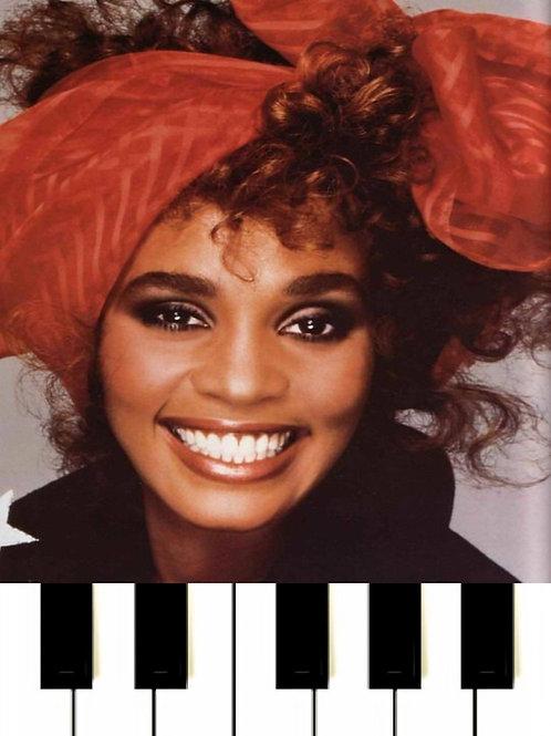 Whitney Houston - Run To You MIDI