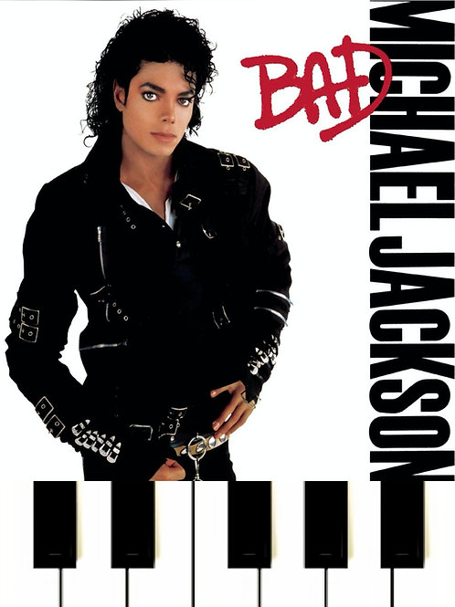 Michael Jackson - BAD Sheet Music