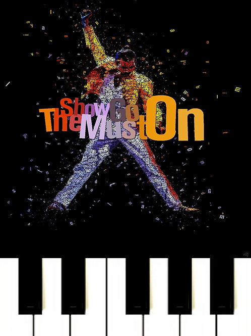 Queen - Show Must Go On MIDI
