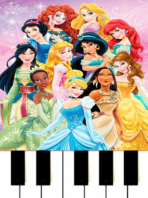 Disney Medley - MIDI + Sheet Music