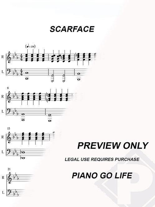Scarface - Main Theme Sheet Music