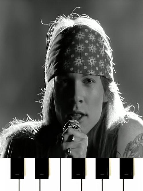 Guns N' Roses - Sweet Child O' Mine MIDI
