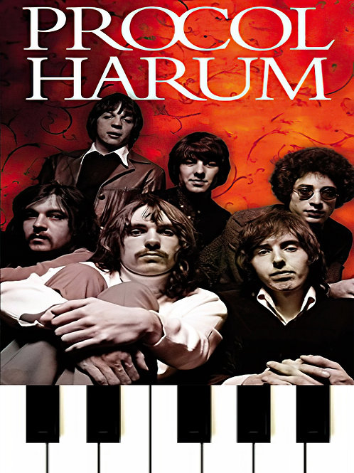 A Whiter Shade Of Pale - Procol Harum Sheet Music