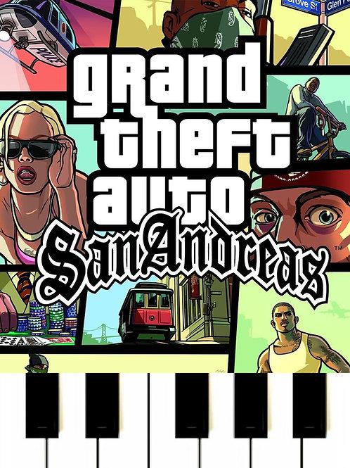 GTA San Andreas Main Theme Sheet Music