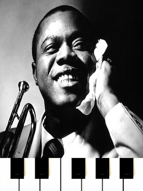 Louis Armstrong - What A Wonderful World MIDI