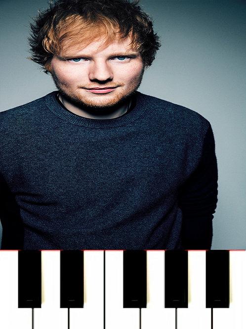 Ed Sheeran - South Of The Border MIDI + Sheet Music