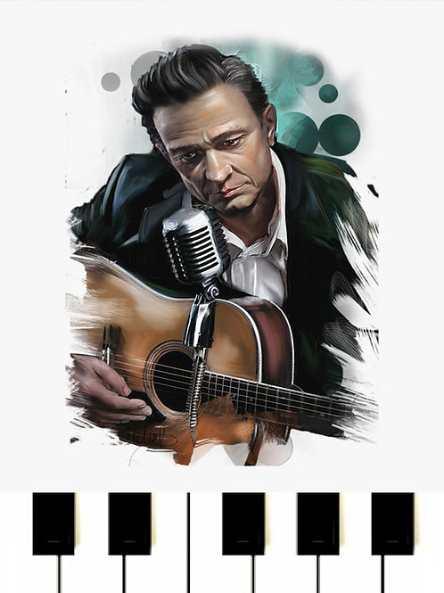Johnny Cash - Hurt MIDI