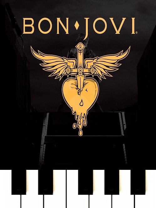 Bon Jovi - You Give Love A Bad Name MIDI