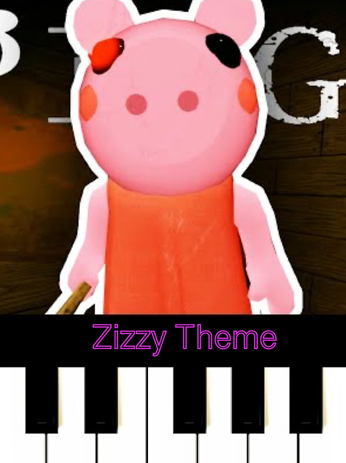 Roblox Piggy - Zizzy Theme Sheet Music