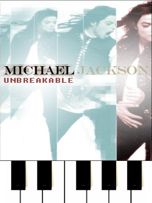 Michael Jackson - Unbreakble Sheet Music