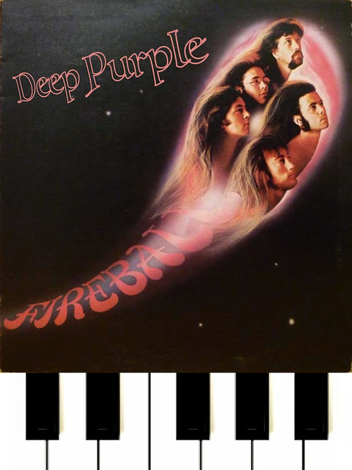 Deep Purple - Soldier Of Fortune Sheet Music