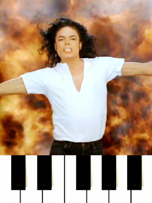 Michael Jackson - Black Or White MIDI