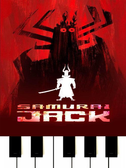 Samurai Jack Theme Song MIDI