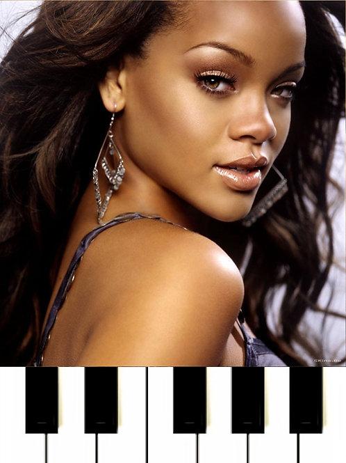 Rihanna feat Eminem - Love The Way You Lie Sheet Music