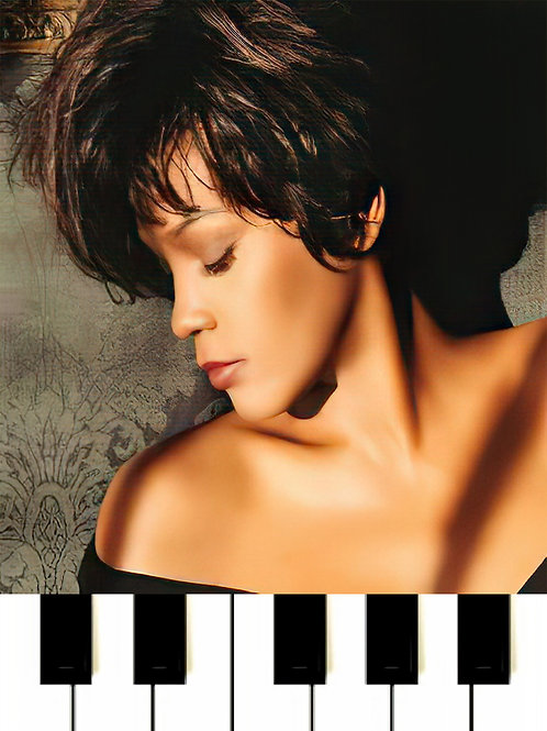 Whitney Houston - Could I Have This Kiss Forever MIDI