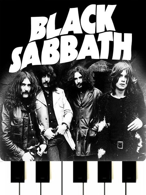 Black Sabbat - Paranoid MIDI