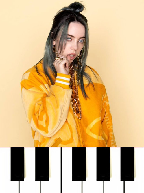 Billie Eilish - Everything I Wanted MIDI