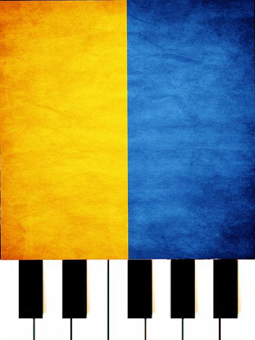 The National Anthem Of Ukraine MIDI