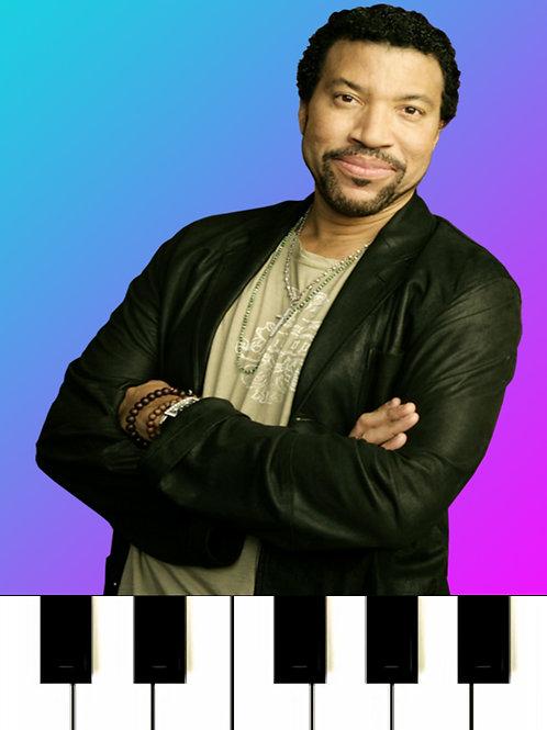 Lionel Richie  - All Night Long MIDI