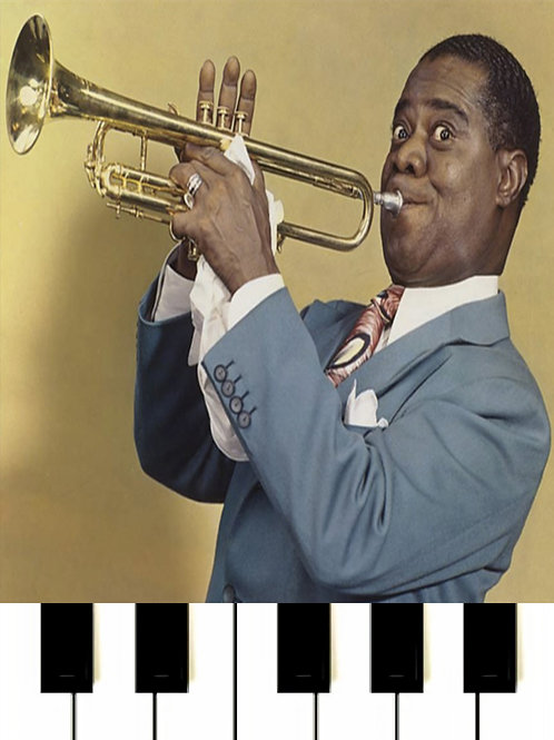Louis Armstrong - Go Down Moses MIDI